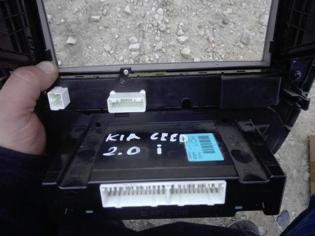 Kia ceed pro 2008r panel ramka radia klimatyzacji kratka klimatronic Wrocław - image 3