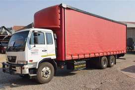 2014 UD100 16TON curtain side truck for sale