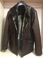 Куртка кожаная, Дубленка с мехом