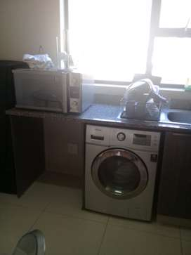 Microwave & washing machine