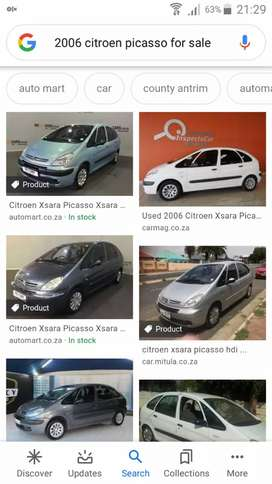 2002 to 2008 citroen picasso stripping for spares