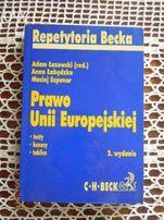 Podrecznik, prawo unii europejskiej, BECK, testy, kazusy, tablice