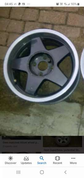 Opel superboss aluette rims