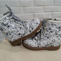Снижена цена Ортопед. ботинки Woopy orthopedic р.24(14,см)для девочки.