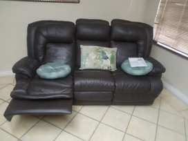 Genuine 100% leather Couches