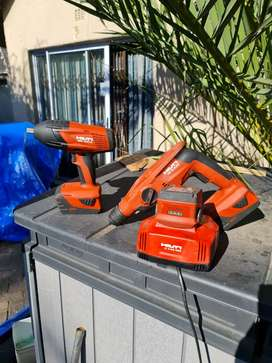 """SIW 22T-A 1/2"""" CORDLESS IMPACT WRENCH +  TE 2-A22 ROTARY HAMMER"""