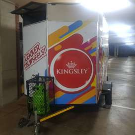 Food Trailer 1 year old very good condition