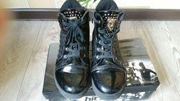Ботинки на левочку
