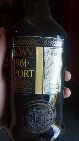 Limited Release KWV 1961 Port