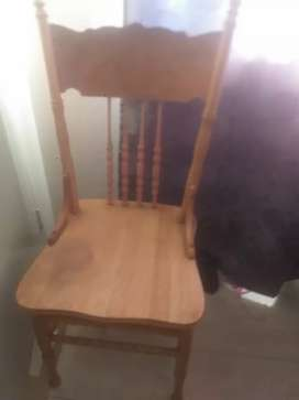 Vintage Colonial Chair