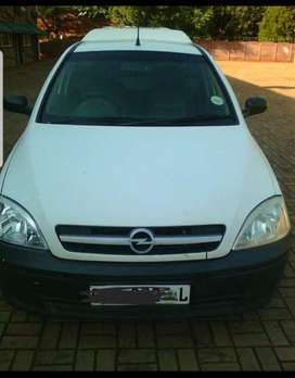 Corsa bakkie comes with a canopy the car is still in very good conditi