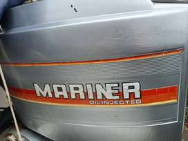 2 x Mariner 60hp outboard motors for sale.