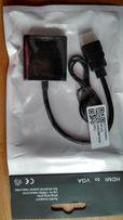 Конвертор переходник HDMI-VGA