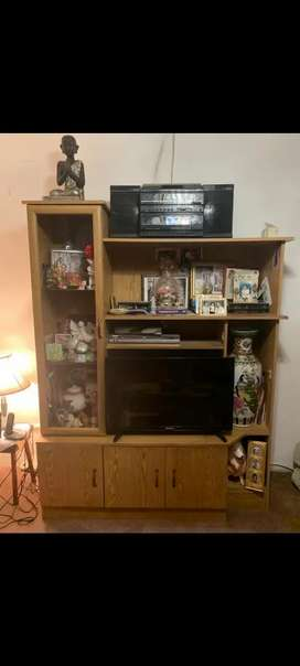 Television Cabinet. Negotiable. Nearest offer will be considered