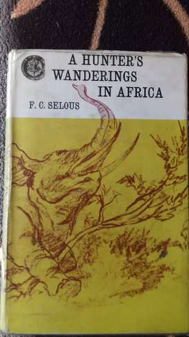 A hunter's wanderings in Africa.