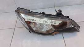 HONDA CIVIC HEADLIGHT. RHS