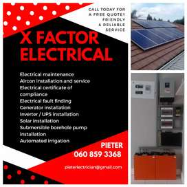 Solar, Aircon and Electrical