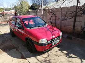 I selling opel corsa 1.3 sport model R30 000.and Flat-screen tv and dv
