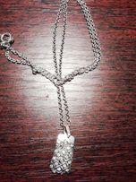 продается серебро цепочка кулон