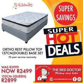 DOUBLE BED FOR 2499