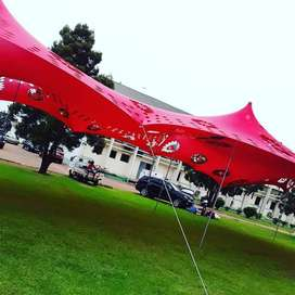 Non Waterproof Cheese Stretch tents for sale