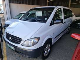 -2009 Mercedes-Benz Vito 115 2.2CDI Manual-Only 205100km-Only R169900