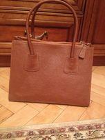 Шкіряна італійська сумка