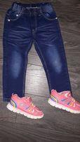 джинсы на девочку 3-4года
