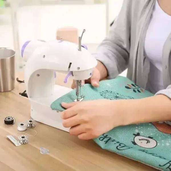 Mini Sewing Machine With Foot Pedal - Electric Operated 0