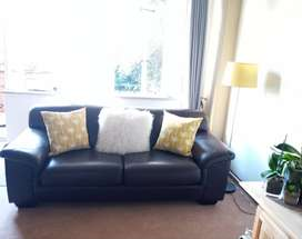 Corricraft genuine leather couch for sale