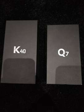 Lg K40 and Q7