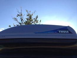Аэробокс багажник на крышу Thule OCEAN 100 с поперечным креплением