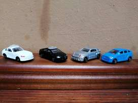 Collection of 4 micro cars.
