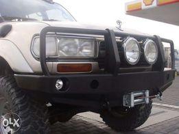 Силовой бампер на Toyota Land Cruiser 80