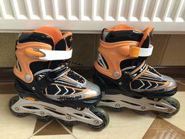 Ролики фирмы Amigo Sport 34-37 размер, роликовые коньки