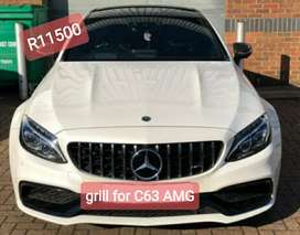 GT grill for merc C63 AMG