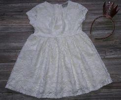 Шикарное кружевное платье NEXT 3-4г