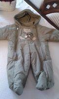 kombinezon zimowy niemowlęcy r. ok 62-68