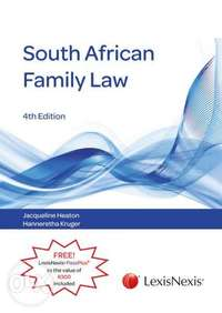 Image of South African Family Law textbook & casebook