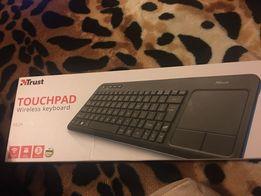 Продам клавиатуру Trust touchpad