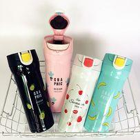 Термокружка, термочашка, термобанка, термос, кружка с фруктами 380 мл.