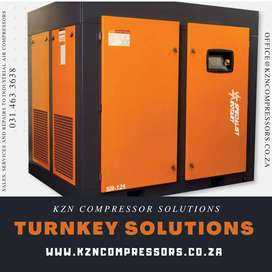 TURNKEY SOLUTIONS ! Screw Compressor Sales, Service and Repairs!