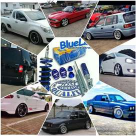 WICKED FITTED DEALS: JOM Blueline Adjustable COILOVERS