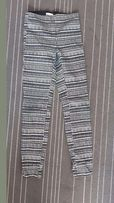 Spodnie we wzory H&M, rozm 34