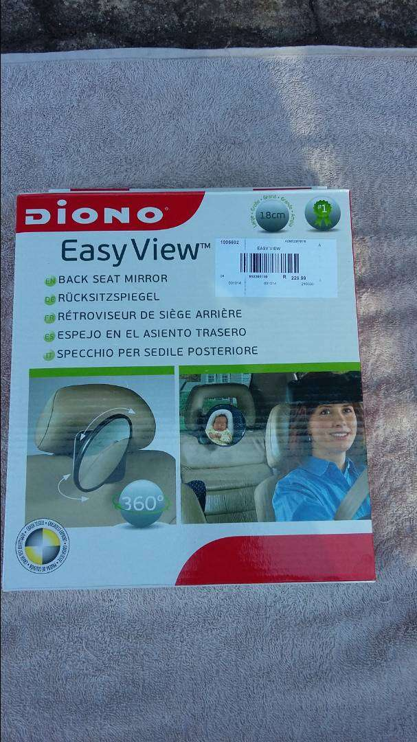 Backseat Car mirror for easy view of baby - R160 0