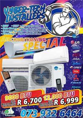 AIR CONDITIONING FROM R6999!