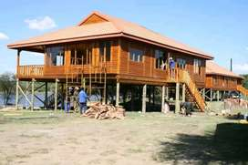 Log Cabins and Nuetec Houses