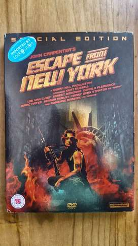 Escape From New York Special Edition Original Imported Dvd