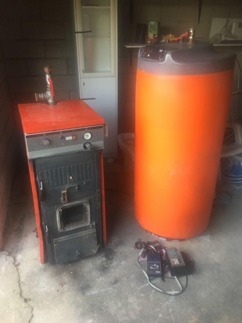 35kw peč in zalogovnik vode 0