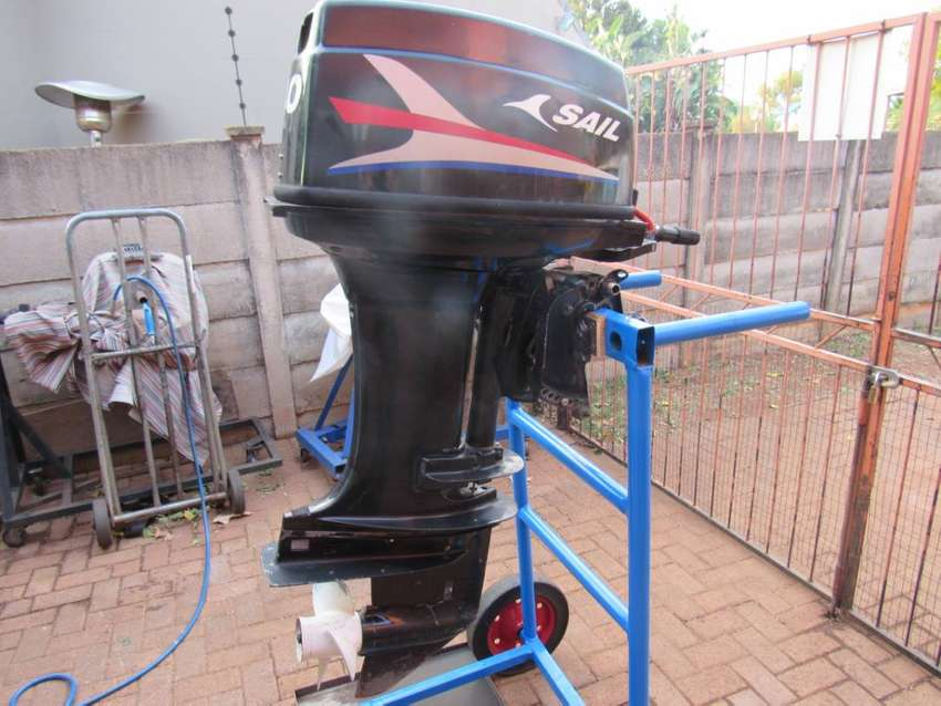 Sail 40 HP Outboard Motor 0